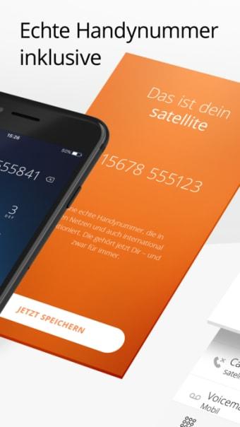 satellite  Mobile in an app
