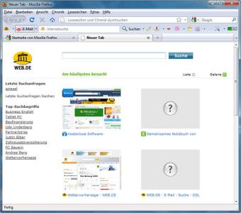 WEB.DE-Toolbar
