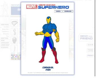Marvel - Create Your Own SuperHero