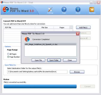 Nemo PDF to Word