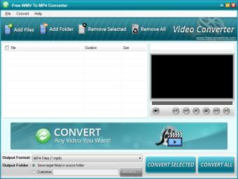 Free WMV to MP4 Converter