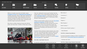 The New York Times for Windows 10