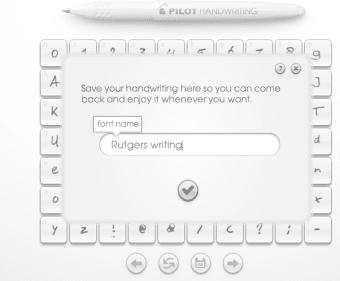 Pilot Handwriting