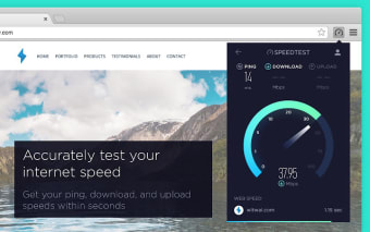 Speedtest by Ookla for Chrome