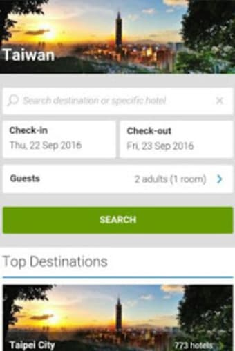 Hotels Taiwan Booking 台湾酒店