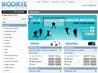 Betting Exchange by BOOKIE Software