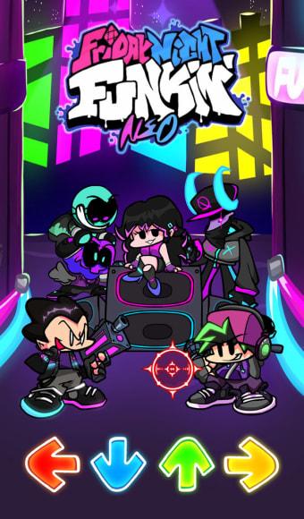 FNF Neo Music - Chill  Pop Beat Fire Battle