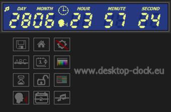Digital Clock and Countdown Ticker