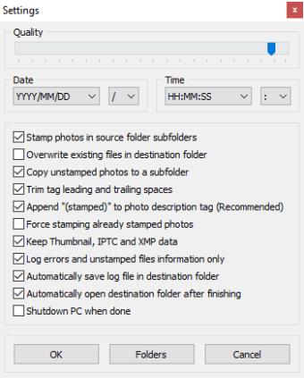 Batch Photo Date Stamper