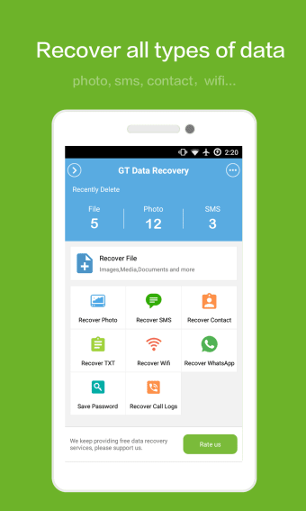 GT Recovery for Android