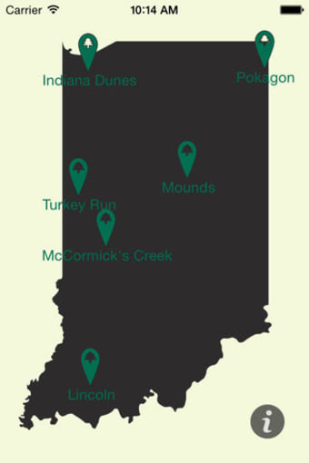 The Indiana State Parks History Tour