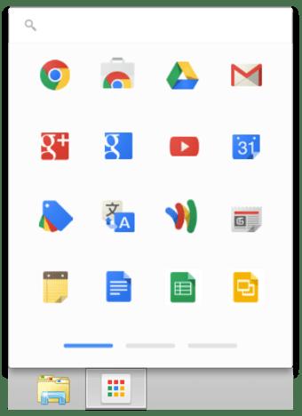 Lanceur d'applications Google Chrome