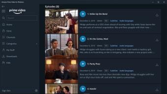 Amazon Prime Video (Windows 10 App)