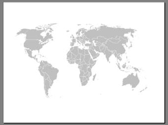 Free Editable Worldmap for Powerpoint