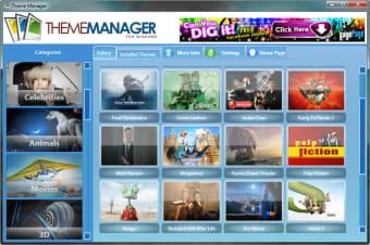 Windows 7 Theme Manager
