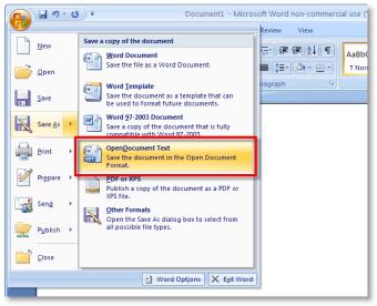 Service Pack 3 para Microsoft Office 2007