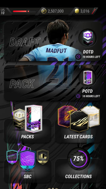 MAD FUT 21 Draft  Pack Opener