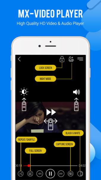 MX Player HD:Video Audio Play