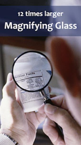 Magnifying Glass - Zoom Camera Flashlight