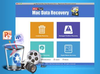 MiniTool Mac Data Recovery Personal