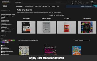 Super Dark Mode for Chrome