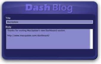 Dashblog