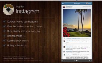 App for Instagram