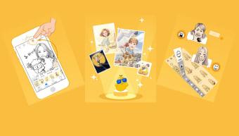 MomentCam Cartoons  Stickers