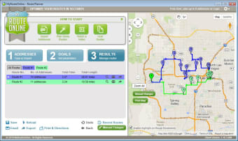 Free Route Planner MyRouteOnline