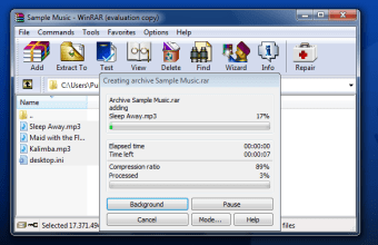 WinRAR Beta