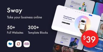 Sway - Multi-Purpose WordPress Theme with Page Builder
