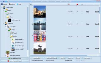 Social Downloader for Facebook, Instagram and Twitter