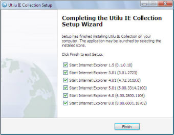 Utilu Internet Explorer Collection