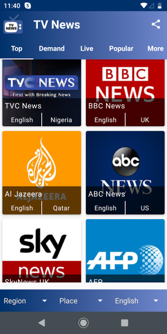 TV News - 2000 Channels