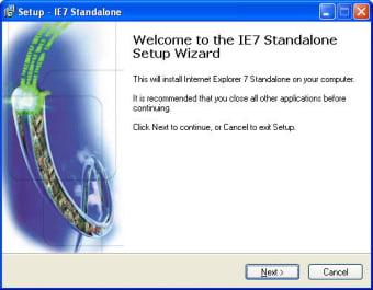 IE7 Standalone