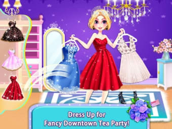 BFF Dressup Makeup Tea Party