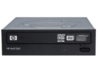 HP dvd1260i DVD Writer drivers