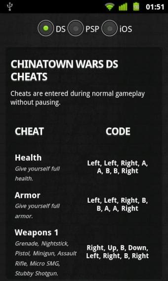 GTA for Cheats