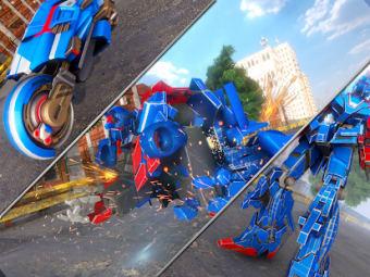 Car Robot Transformation Game: New Robot Game 2021