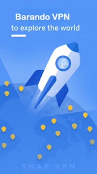 Barando VPN  Super Fast Proxy Secure Hotspot VPN