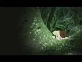 夜の森タイピング