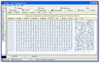 Fiddler HTTP Debugger