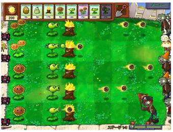プラント vs. ゾンビ (Plants vs. Zombies) for WebApp