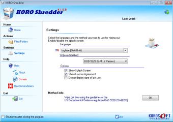 KORO File Shredder