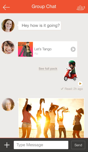 Tango - Go Live  Video Chat