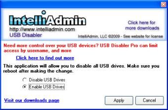 USB Drive Disabler