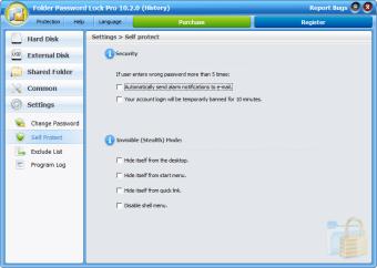 Folder Password Lock Pro