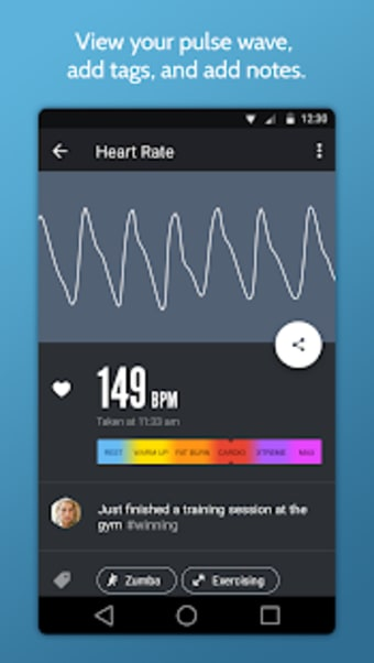 Instant Heart Rate : Heart Rate  Pulse Monitor