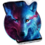 Ice Wolf Live Screen Lock