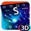 3D Neon Hologram Keyboard